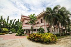 Prohíba la casa histórica de Wongburi en Phrae, Tailandia fotos de archivo libres de regalías
