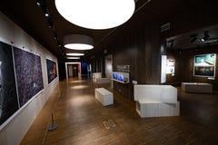 Prohibición de la exposición del centro de la paz Nobel la bomba Fotos de archivo libres de regalías
