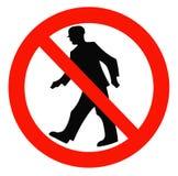 Prohibición de las muestras libre illustration