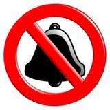 Prohibición del sonido Fotografía de archivo