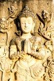 Prohibición-guarida del wat de la estatua del ángel, provincia Tailandia del chiangmai Foto de archivo