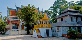 Prohibición Harn Wat Samret, Koh Samui, Tailandia Fotografía de archivo