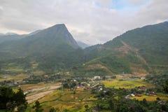 Prohibición Ho Village, distrito de Sapa, Lao Cai Province, Vietnam del noroeste Imagen de archivo
