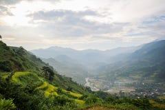 Prohibición Ho Village, distrito de Sapa, Lao Cai Province, Vietnam del noroeste Fotografía de archivo libre de regalías