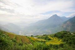 Prohibición Ho Village, distrito de Sapa, Lao Cai Province, Vietnam del noroeste Fotografía de archivo