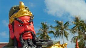 Prohibición Tha Po China Tample Koh Samui, Tailandia Imágenes de archivo libres de regalías