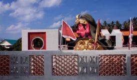 Prohibición Tha Po China Tample, Samui, Tailandia Fotos de archivo