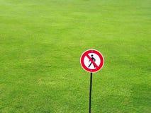 Prohibido Foto de archivo