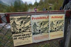 prohibido Foto de archivo libre de regalías