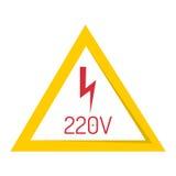 Prohibition sign industry production vector illustration warning danger symbol forbidden. Stock Image