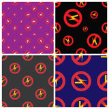 Prohibition sign industry production vector illustration warning danger symbol forbidden. Stock Photo