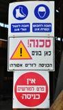Prohibitive signboard. Royalty Free Stock Photos