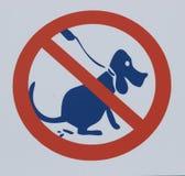 Prohibitory sign Royalty Free Stock Image