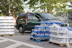 Proibição 2010 da água de Boston imagem de stock royalty free