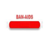 A proibição ajuda à campanha Fotografia de Stock