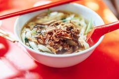 A proibição Mian é um prato popular do macarronete imagem de stock