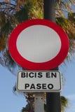 Proibido no parque ilustração do vetor