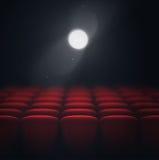 Proiettore del cinema Immagini Stock