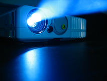 Proiettore dell'affissione a cristalli liquidi Fotografia Stock Libera da Diritti