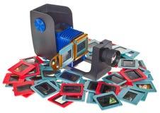 Proiettore di diapositive Fotografia Stock