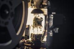 Proiettore di pellicola dell'annata Fotografia Stock