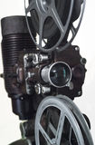 Proiettore di pellicola di numero uno Fotografia Stock