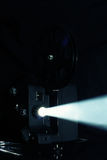 Proiezione del proiettore di pellicola Immagini Stock