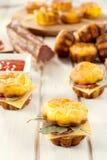 Proja sausage sandwich stock images