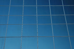 Projeção de vidro Foto de Stock Royalty Free