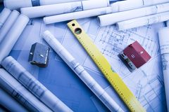 Project building Stock Images