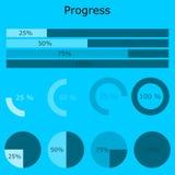 Project Bussiness Progress vector illustration