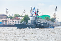 Project 1241, class of Soviet missile corvette Stock Images