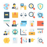 Project Colored Vector Icon 6. This Project Management Colored Vector Icons Set contains such icons that you can use in your design projects related to business Royalty Free Stock Photos