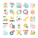 Project Colored Vector Icon 10 Stock Image