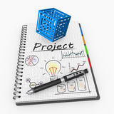 Project concept Royalty Free Stock Photo