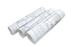 Project drawings Royalty Free Stock Image