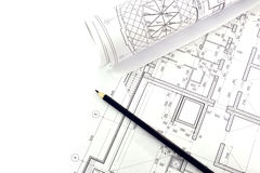 Project drawings Stock Photos