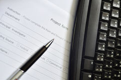 Project form Stock Photos