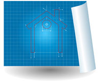 Project house chart Stock Images