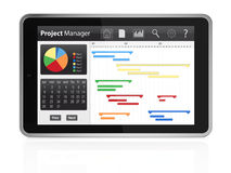 Project management Royalty Free Stock Image