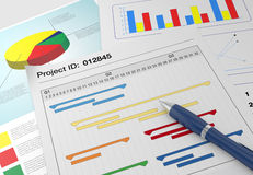 Project management Stock Photos