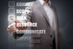 Project Management Stock Photo