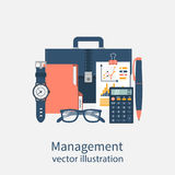 Project management, concept Royalty Free Stock Photography