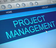 Project management concept. Stock Images