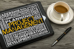 Project management concept Royalty Free Stock Photos