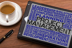 Project management concept Stock Images