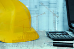 Project management - Construction project planning Royalty Free Stock Images