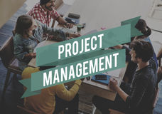 Project Management Forecast Operation Predict Concept Royalty Free Stock Images
