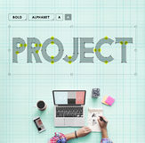 Project Management Forecast Operation Predict Concept Royalty Free Stock Photos