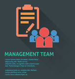 Project management icon, management team icon. Stock Images